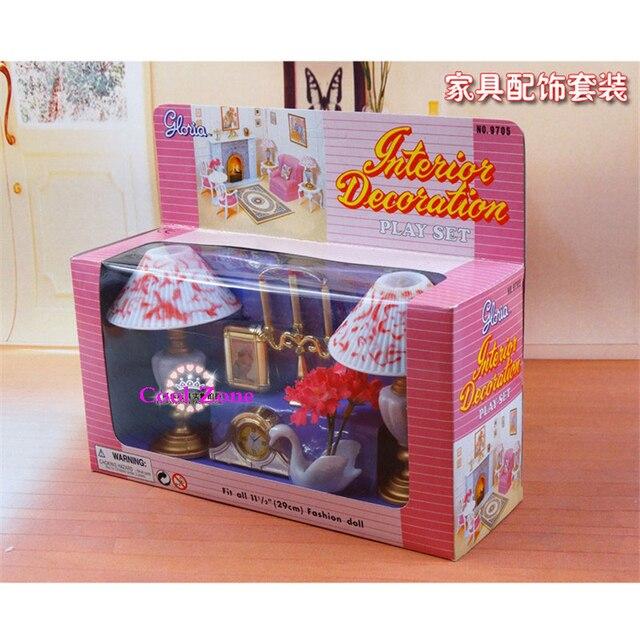 Miniature Furniture Interior Decoration Set For Barbie Doll House