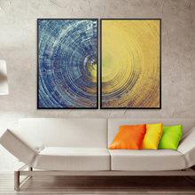 HAOCHU Abstract Texture Canvas Painting Computer Inkjet Printing Living Room Sofa Bedroom Wall Picture Poster Arts Home Decor