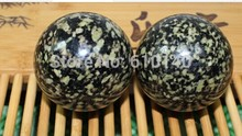 Hard as iron / high-grade materials used tea health / medical stone fitness ball / handball / Father's Day Gifts / 1 pair