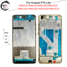 AAA Kalite Orta Çerçeve Huawei P10 Lite P10lite Orta Çerçeve Konut Kapak Için WAS LX2J WAS LX2 WAS LX1A WAS L03T WAS LX3