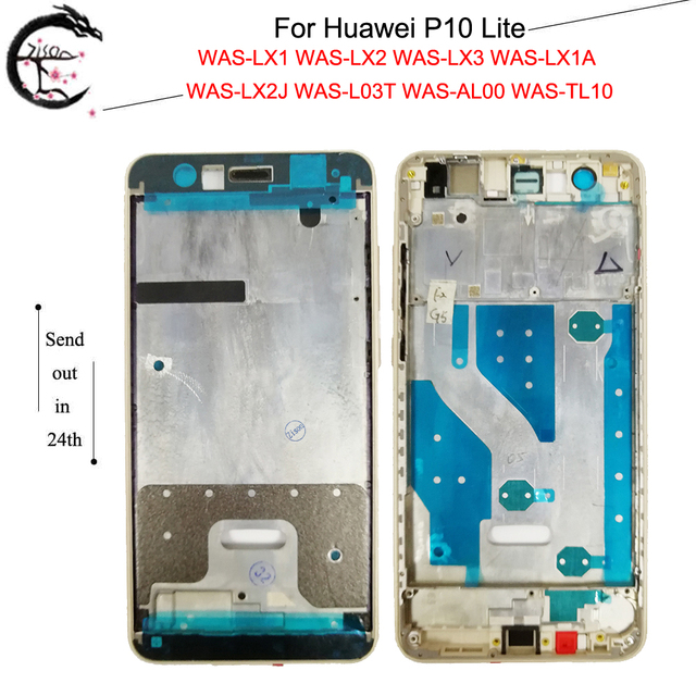 AAA Quality Middle Frame For Huawei P10 Lite P10lite Middle Frame Housing Cover For WAS LX2J WAS LX2 WAS LX1A WAS L03T WAS LX3