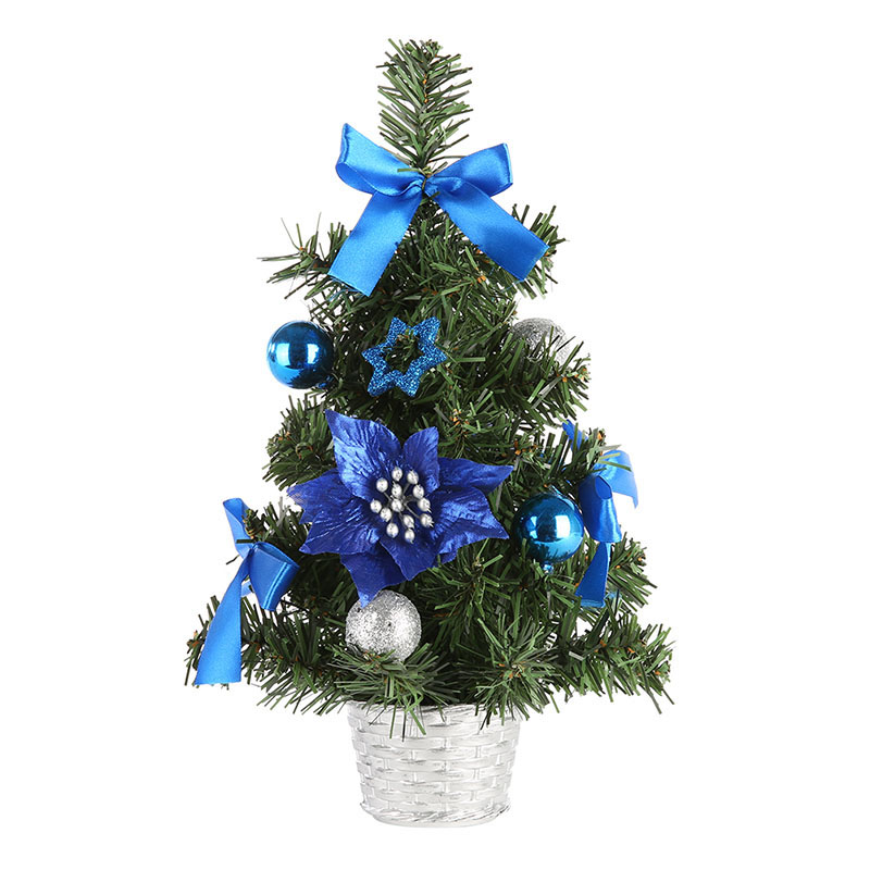 1 Pcs Mini Christmas Trees Decorations Small Pine Tree