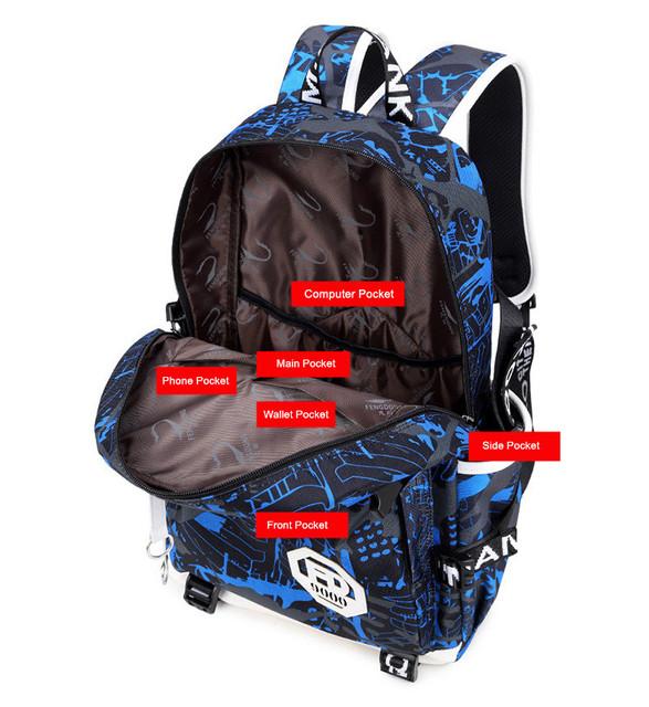 LuxuryMania FR-9000 Backpack