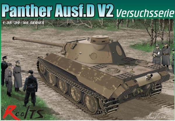 RealTS Dragon 6830 1/35 Panther Ausf.D V2 Versuchsser model kit giudi 6830 sag an