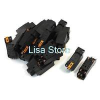 20pcs PYF08A 35mm DIN Rail Mounted Power Relay Socket Base for HH52P MY2J