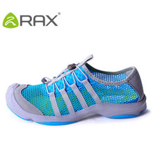 RAX spring  summer mesh outdoor walking shoes men slip lightweight and comfortable design big sucker thicker cushioning insole