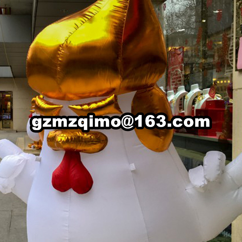 free air shipping giant inflatable usa gold Donald Trump rooster cock models/Chicken Mascot costumes Cartoonfree air shipping giant inflatable usa gold Donald Trump rooster cock models/Chicken Mascot costumes Cartoon