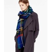 Brand 2017 New Tartan Blanket Scarf For Women and Acrylic Warm Winter Scarves Shawls 140cmX140cm