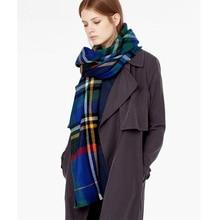 ZALA Brand 2017 New Tartan Blanket Scarf For Women and Acrylic Warm Winter Scarves Shawls 140cmX140cm