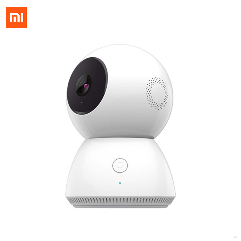 Xiaomi MiJia Smart Home IP Camera 360 Degree Full View 1080P Motion Detection Night Vision  Panoramic WIFI App Control Camcorder xiaomi mijia yeelight ceiling light led bluetooth wifi remote control fast installation for xiaom mi home app smart home kit