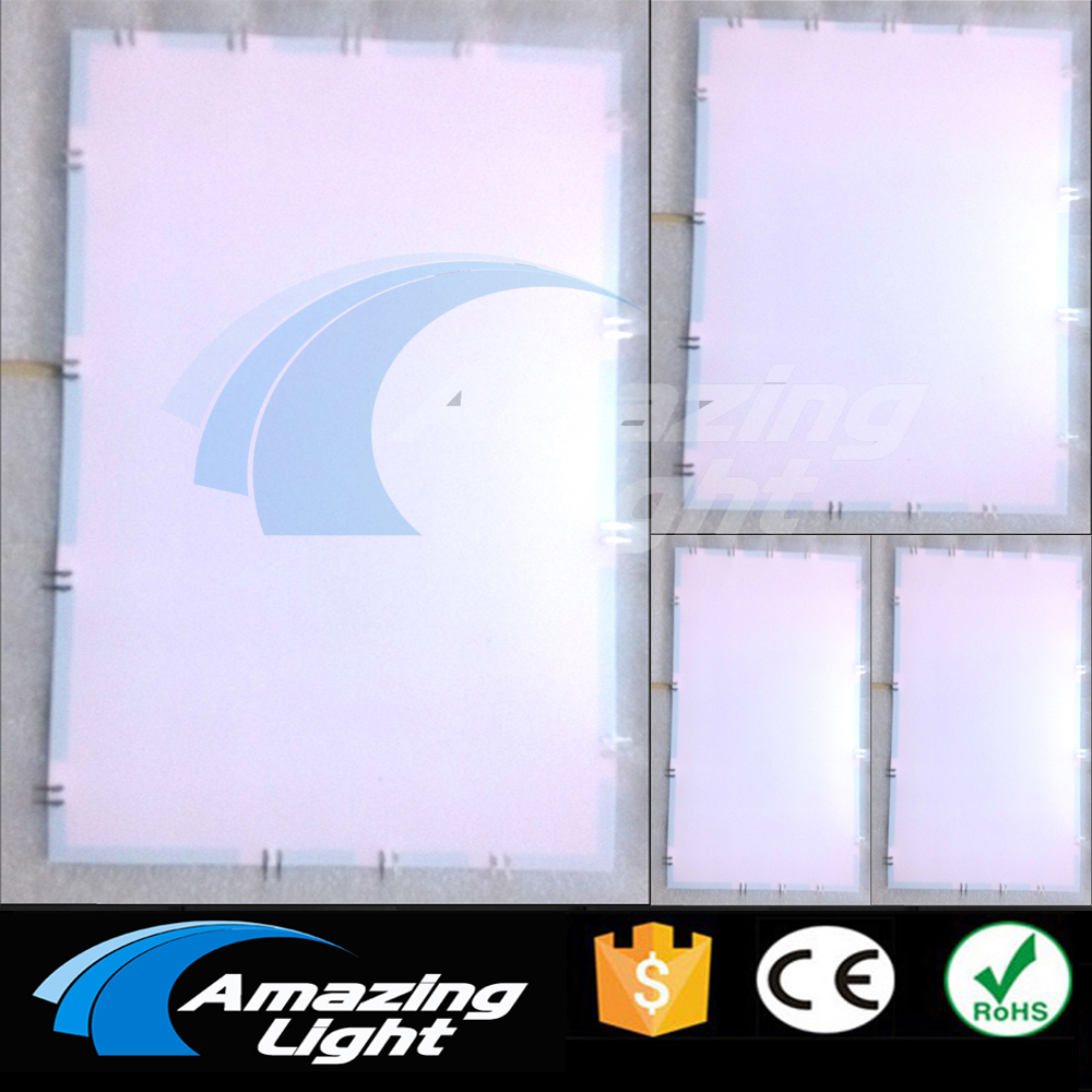 Cuttable Electroluminescent EL PANEL backlight sheet A3+A4+A5 size with DC12V inverter варежка скребок airline для удаления льда цвет черный ab q 01