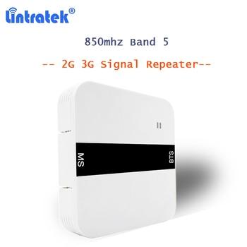 850MHz repetidor sinal de celular Band 5 UMTS/CDMA mobile phone signal Booster mini amplifier voice 2G/3G F connector brazil S29