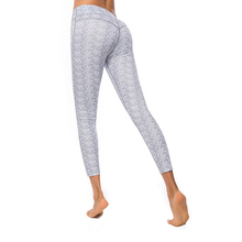 Women High Waist Yoga Pants Gym Printing Leggings Elastic Exercise Tights For Fitness Running Sports