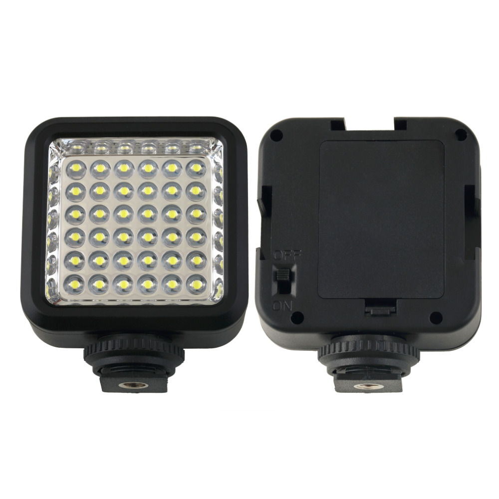 W36 36 LED Video Light Camera Lamp Light Photo Lighting For Cannon/For Nikon/For Sony/For Panasonic Camera Or Camcorder