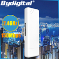 3KM CPE 2.4Ghz 150Mbps outdoor CPE Router Long Range Repeater WIFI Signal Booster & Amplifier Network Bridge 15dBi Antenna