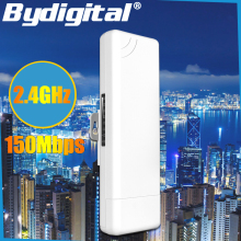 3KM CPE 2 4Ghz 150Mbps outdoor CPE Router Long Range Repeater WIFI Signal Booster Amplifier Network