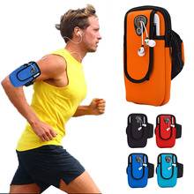 6.0 inch Running Bags Arm Men Women Armbands Cell Phone Arms