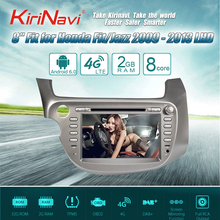 Kirinavi Octa core 4 г пусть Android 7 Автомобильный мультимедийный плеер для Honda Fit Jazz навигации 2009-2013 поддержка 4 К 4 г