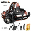 AloneFire HP78 headlamp CREE L2 LED 2500Lm 3 mode Zoomable Waterproof Headlight Head lamp Flashlight Head Lamp