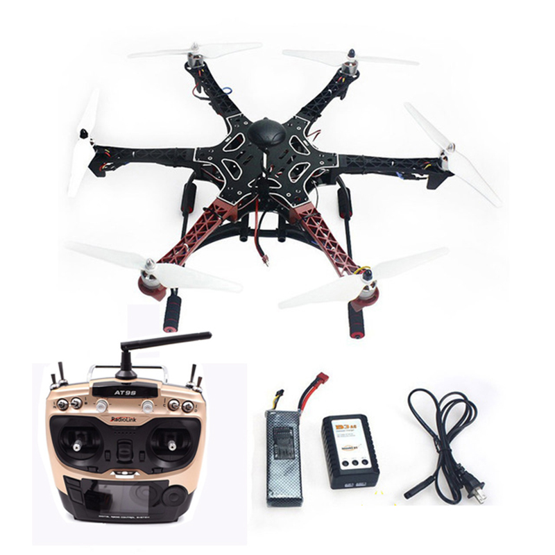 Tarot Assembled F550 6-Aix RTF Landing Skid with 30A Brushless ESC APM 2.8 Flight Controller GPS Compass Gimbal Camera Mount 30a esc welding plug brushless electric speed control 4v 16v voltage