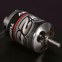 RC hobby G25 610KV brushless outrunner motor for park 25 size glow engine airplane