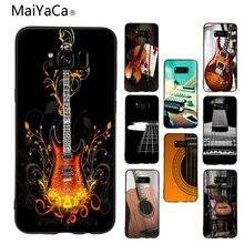 Maiyaca guitarra vieja en la silla nueva ArrivalFashion cubierta de la caja del teléfono para samsung galaxy s6 edge s5 s7 s8plus s9plus funda coque
