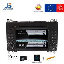 JDASTON 2 Din автомобильное радио для машины DVD gps головное устройство для Mercedes Benz B200 B класс W169 W245 Viano Vito W639 Sprinter W906 Bluetooth