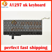 "new perfect A1297 EU uk keyboard for macbook pro 17"" A1297 uk big enter keyboard layout without backlight 2009 2010 2011year"