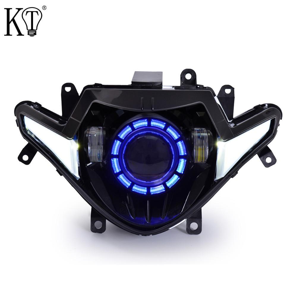 KT Full LED Headlight Assembly For Suzuki GSX250R 2017+