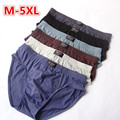 Cheapest ! 100% Cotton Mens Briefs XXXL Plus Size Men Underwear Panties M/L/XL/XXL/XXXL/4XL/5XL / Men's Breathable Panties