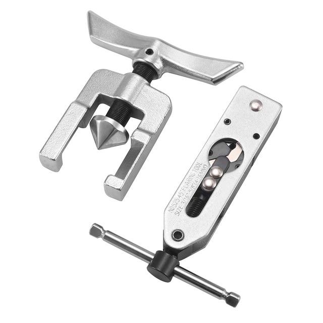 Ручной трубчатый расширитель для угла, эксцентриковый конус, набор инструментов для развальцовки, холодильные инструменты, универсальный инструмент для развальцовки