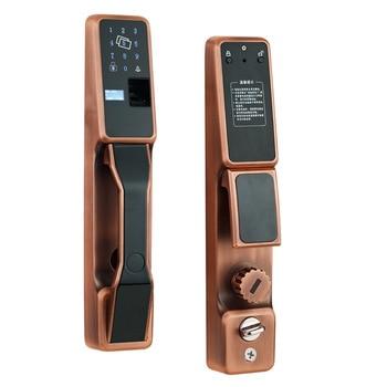 Automatic Fingerprint Lock Home Security Door Smart Lock Electronic Door Lock Fingerprint Identification Swipe Lock