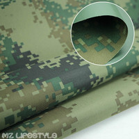 Oxford Cloth Camouflage Waterproof Cloth Coated Tarpaulin Rain Upset Paragraph PVC Silver Shade Cloth Camouflage Cloth