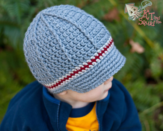 Free Shippingcrochet Childrens Newsboy Hatbaby Photography Prop