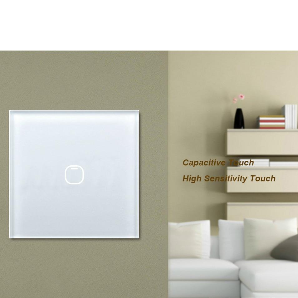 Interruptores e Relés interruptor de toque 1 2 Modelo Número : Tlink