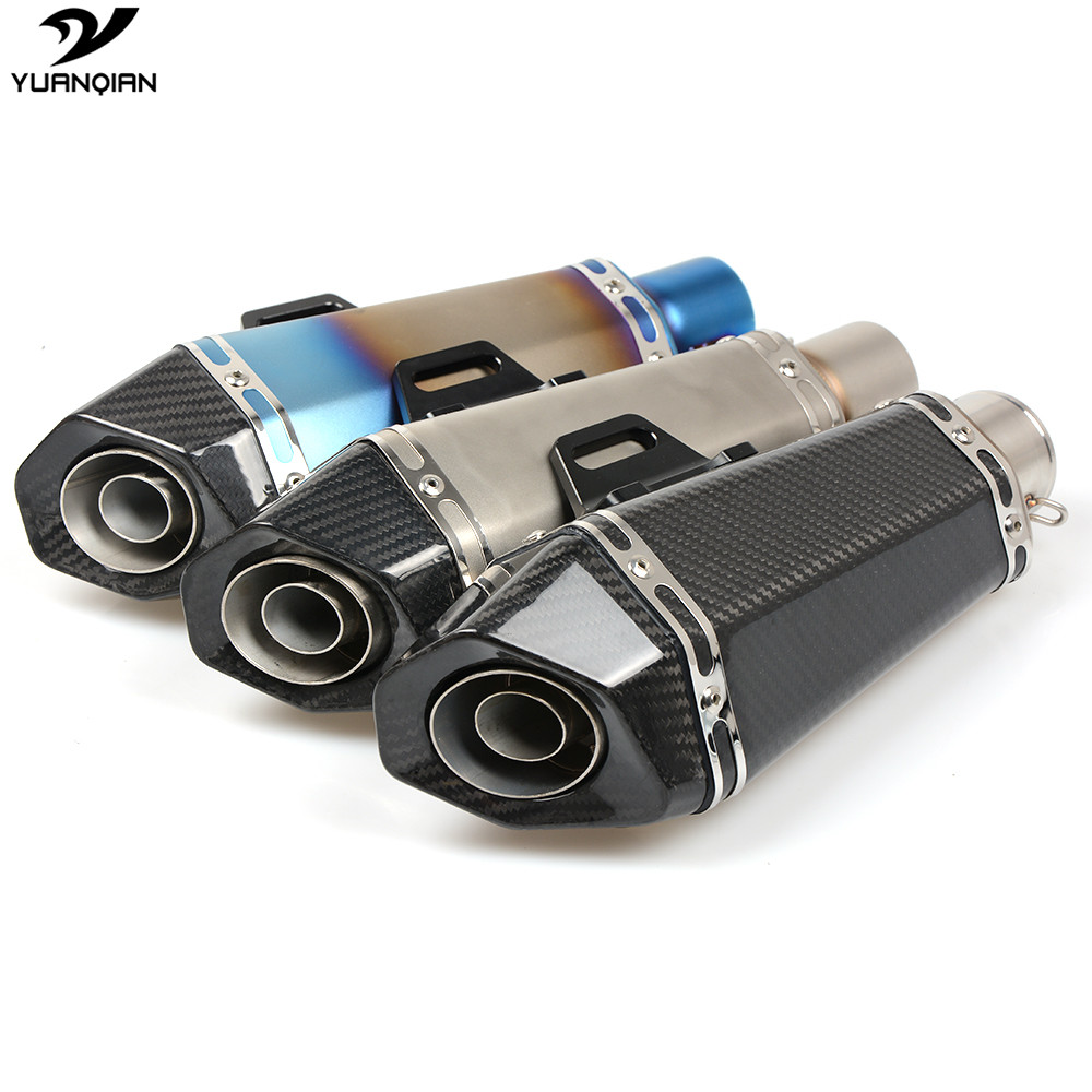 Motorcycle Scooter Exhaust Pipe Modified Exhaust Muffler Pipe For BMW S1000RR F800R R1200GS Adventure F650GS F800GS S1000R hp2