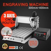 3 AXIS CNC ROUTER ENGRAVER ENGRAVING MACHINE 3040T DQ
