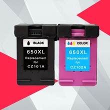 Compatible Ink Cartridge 650XL Replacement for HP 650 XL for HP650 Deskjet 1015 1515 2515 2545