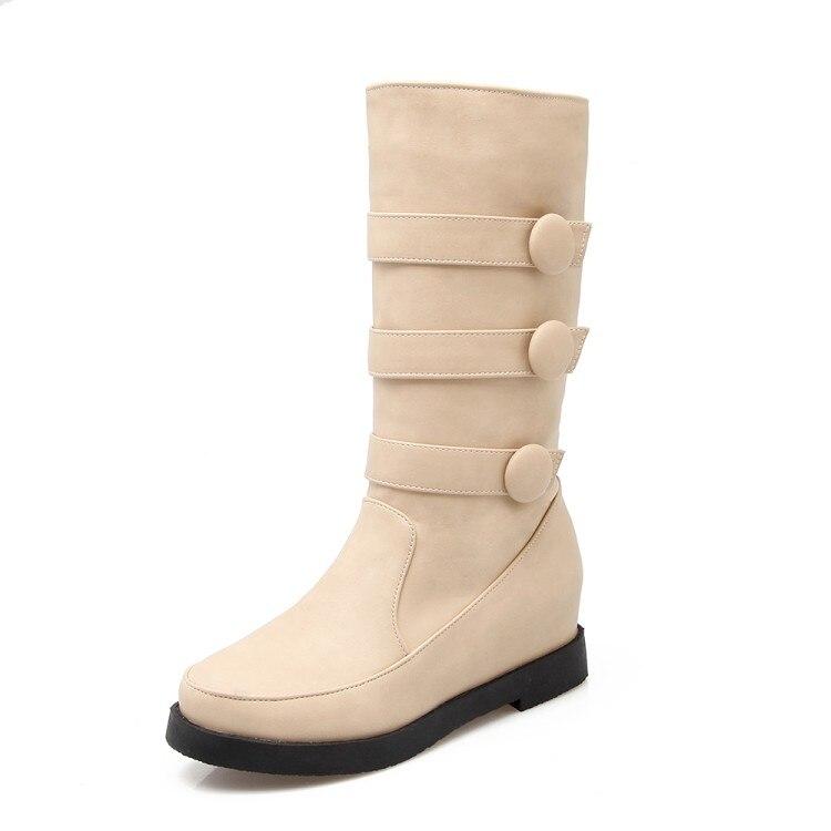 2017 Real Boots Botas Mujer Shoes Women Boots Fashion Motocicleta Mulheres Martin Outono Inverno Botas De Couro Femininas1256 shoes woman fashion motocicleta mulheres martin outono inverno botas de couro boots femininas botas women boots canvas 6 15