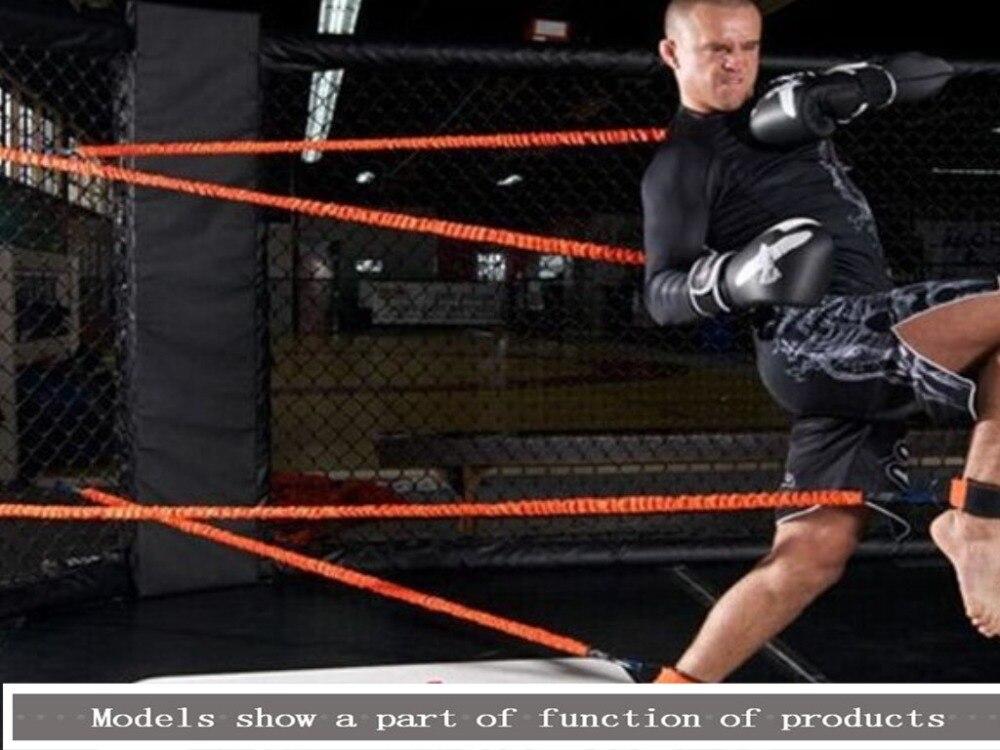 цена Boxing/Karate/Fencing/resistance training belt elastic arm physical strength Gym fitness equipment resistance bands pull rope онлайн в 2017 году