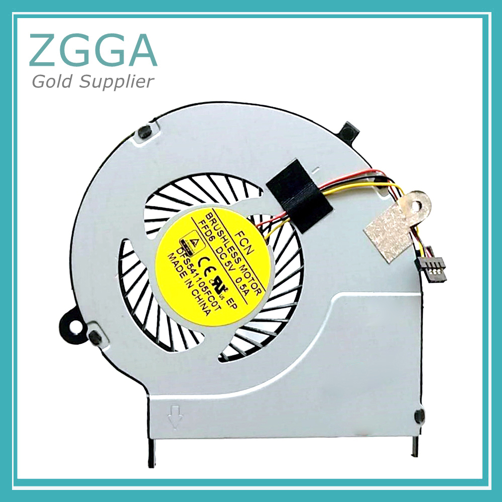 NEW Laptop cpu Cooler for <font><b>Toshiba</b></font> Satellite <font><b>L50</b></font>-B <font><b>L50</b></font> CPU Cooling Fan DFS541105FC0T image
