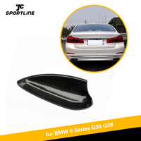 Carbon Fiber Shark Fin Antenna Carbon Fiber Car Fin Roof Antenna Decorate Aerial for BMW 5 Series G30 G38 F90 M5 520i 530i 540i