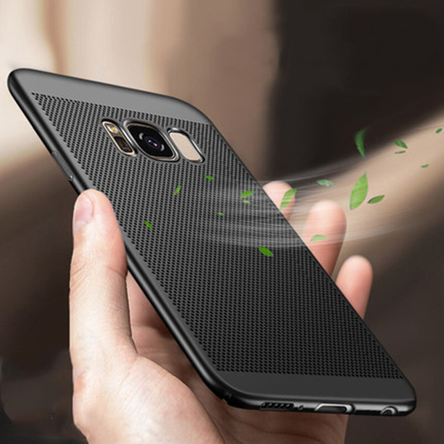 outlet store 65019 47a7d US $1.99 50% OFF|Luxury Hard Case For Samsung galaxy S8 S 8 Plus Case Cover  shockproof Heat dissipation full Protection for Samsung S8 Phone Case-in ...