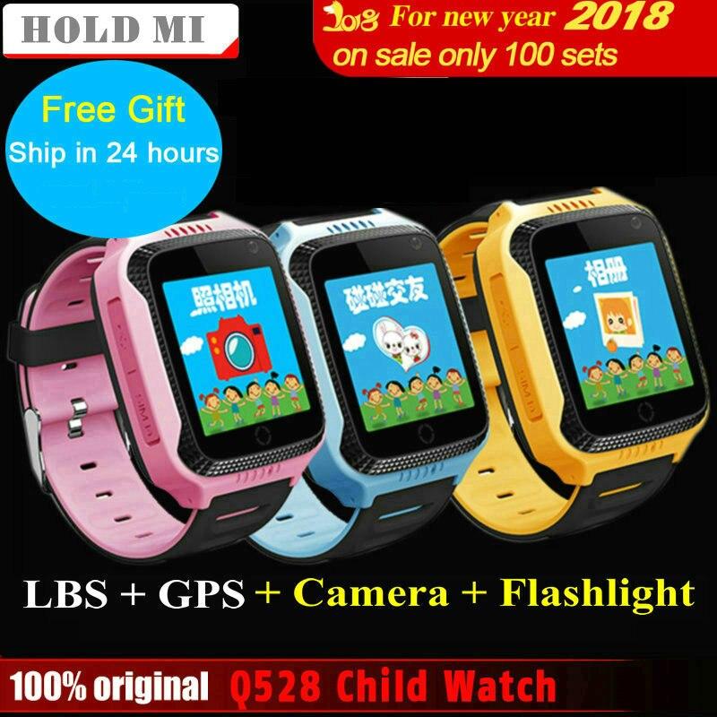 Hold Mi Q528 Y21 Touch Screen Kids GPS Watch with Camera Lighting Smart Watch Sleep Monitor GPS SOS Baby Watch PK Q60