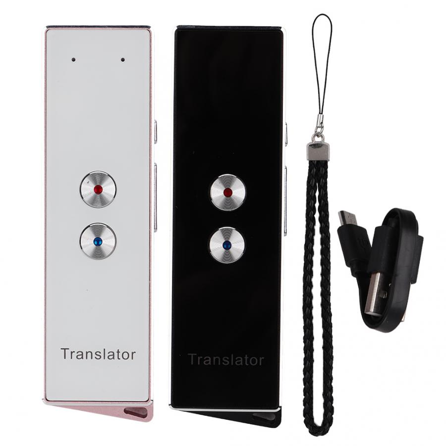 Portable X9 traductor Intelligent Multi Language Voice Translator instant translate language translator For Learning Travel Meet