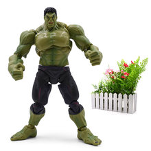 SHF 20 cm Animiation Ocidental S. h. figuarts Hulk PVC Action Figure Collectible Modelo Articular Móvel Presente de Natal Brinquedos(China)