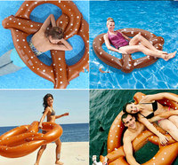 Pool Inflatable Donut Swim Ring Summer Water Toy Inflatable Floats Pool Toys Swimming Float For Adult