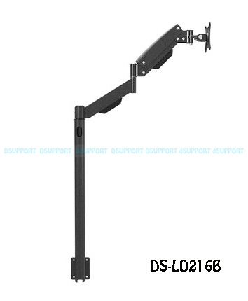 Heavy Duty 13 27 LCD Monitor Floor Stand Sofa side Fixed TV Mount Computer Monitor Holder