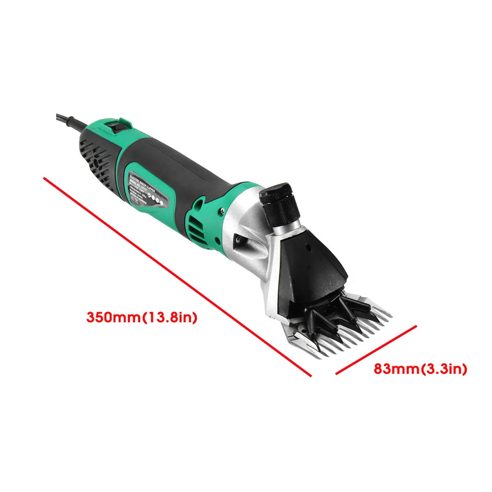 850W 6 Speeds Electric Sheep Shearing Machine Clipper Scissors Shears Cutter Goat Clipper Adjustable 2400r min US EU AU UK Plug in Scissors from Tools