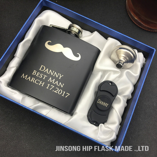 new style personalized wedding gift for best man groomsman gifts